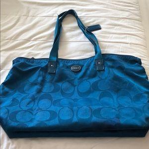 Coach tote purse